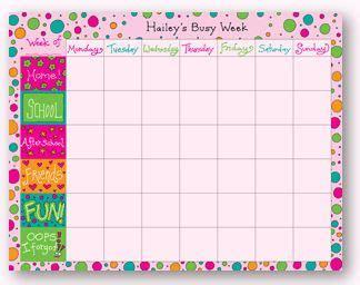 links   printable weekly calendars