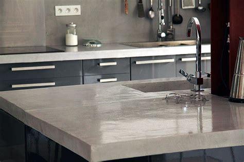 refaire un plan de travail cuisine plan de travail en bton cir cuisine meuble beton cire