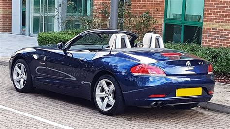 automobile air conditioning service 2009 bmw z4 m roadster interior lighting used blue bmw z4 for sale surrey