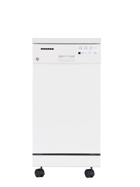 ge   portable dishwasher  short stainless steel