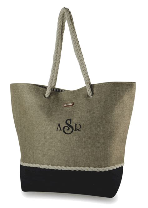 stylish summer tote bag personalized  colors