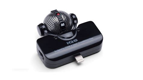 iphone microphone give your iphone 5 a pro quality mic with the zoom iq5