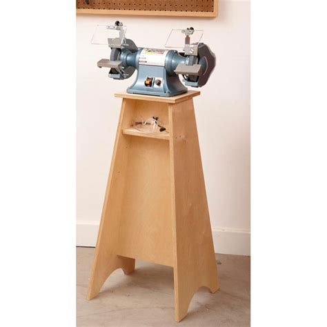 Grinder Grand Stand Woodworking Plan From Wood Magazine