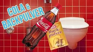 Hausmittel Verstopfte Toilette : toilette reinigen mit cola und backpulver wc putzen mit hausmittel youtube ~ Watch28wear.com Haus und Dekorationen