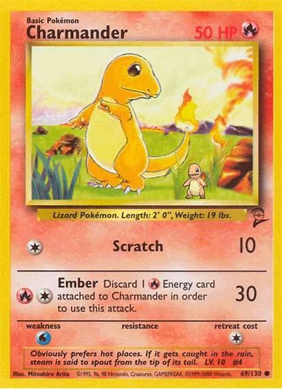 Pokemon Charizard Cards Charmander Nintendo Card Charmeleon