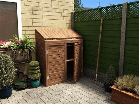 b q garden sheds for sale uk mini storage shed w1 23m x d0 63m sheds storage