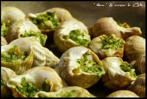 cuisiner les escargots recette de bulots farcis la recette facile