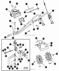 Mantis Tiller Parts Diagram
