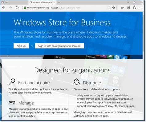 The Windows Store Windows Store For Business A First Look 4sysops