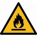Flammable Safety Sign Hazard Iso Symbol 7010