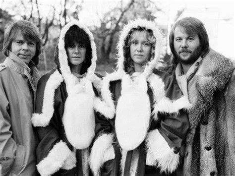 abba in christmas jumpers 93 best images about abba on