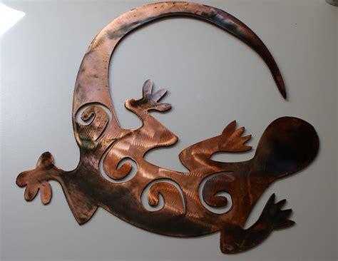 chasen gecko southwestern metal decor ebay