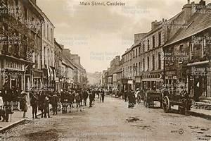 Main Street, Claremorris, Mayo, Ireland, Old Photo, Old