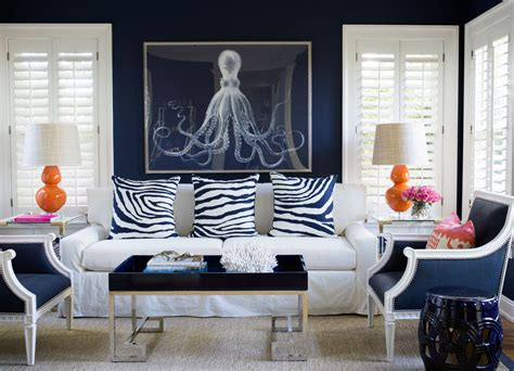 Room Ideas Blue And White by Navy Blue Living Room Ideas Adorable Home