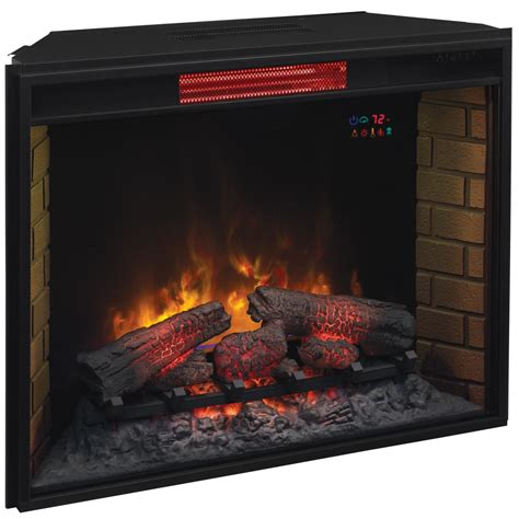 fireplace inserts electric electric fireplace insert 33 inch classicflame united