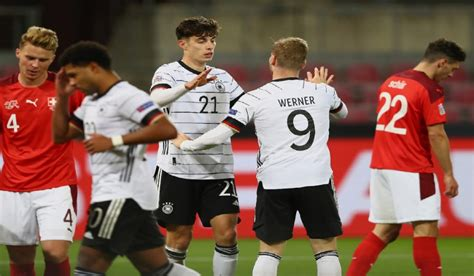 Timo Werner and Kai Havertz score as Rudiger feature in ...
