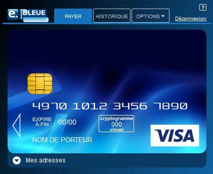 si鑒e banque postale e carte postale virtuelle