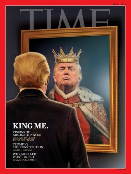 king  donald trump    cover  time magazines