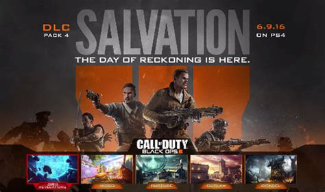 Call Of Duty Black Ops 3 Zombies Salvation Dlc Revealed