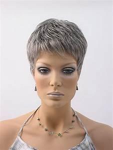 Coupe Cheveux Gris Femme 60 Ans : coupe cheveux courts gris femme 50 ans ~ Voncanada.com Idées de Décoration