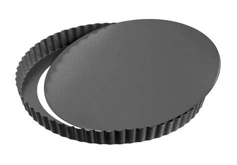 quiche pan tart forme plus removable bottom nonstick kaiser