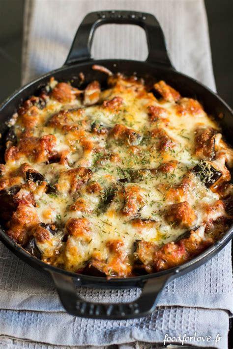 cuisine dz gratin d aubergines à la mozzarella cuisine dz