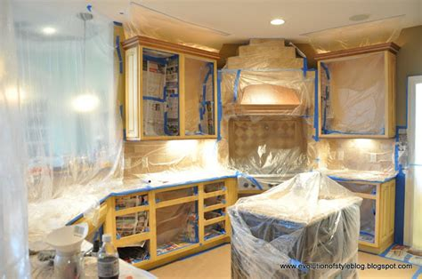 how to paint inside kitchen cabinets spray painting kitchen cabinet to give new face to the