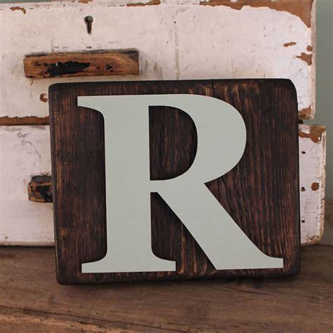 wood block letters reclaimed wooden block letters by m 246 a design