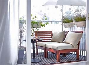Bank Für Balkon : ideen f r schmale kleine balkone und vieles mehr sch ner wohnen ~ Eleganceandgraceweddings.com Haus und Dekorationen