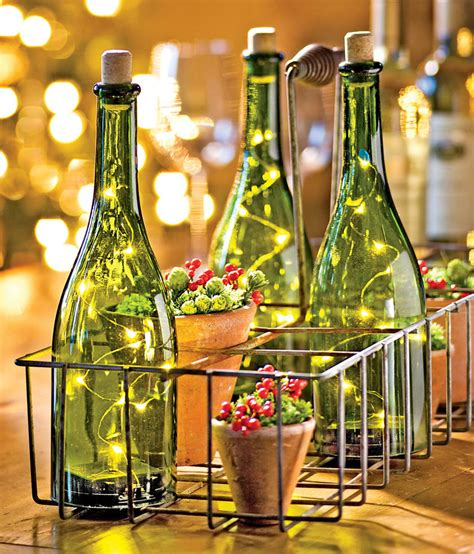 how to put lights in a wine bottle led wine bottle lights so that s cool