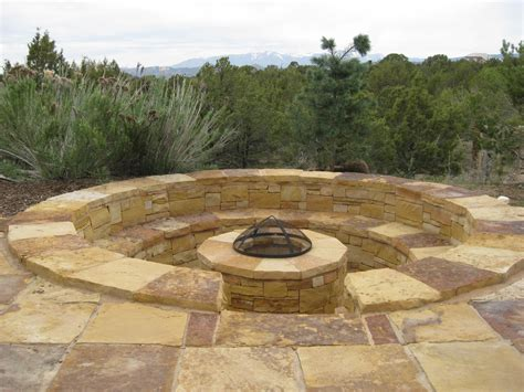 sunken pit designs landscape construction category canyon landscape llc stone masonry and landscaping in