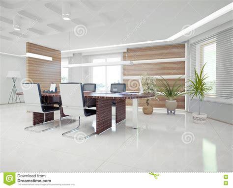modern office interior stock illustration illustration