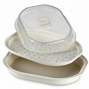 Meals in Minutes Microwave Fish and Vegetable Steamer