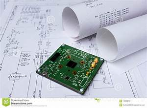 Printed Circuit Board Circuit Diagram Software Stock