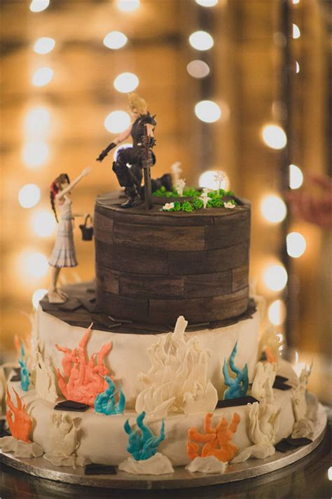 gamer wedding cake pictures   images