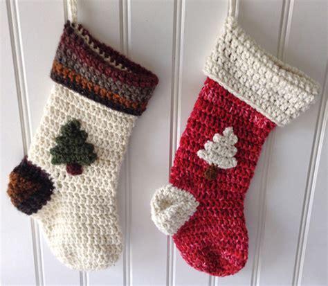 crochet christmas stocking patterns guide patterns