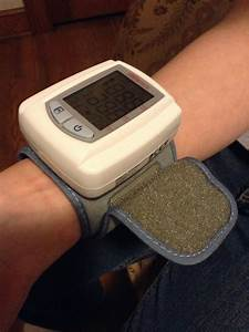Wrist Digital Blood Pressure Monitor With Case By