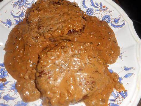 hache de cuisine recette de steak haché au poivre vert