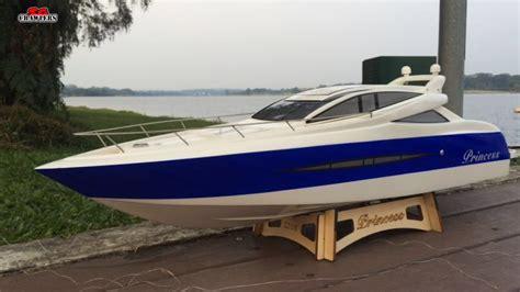 Hobbyking Princess Brushless Vhull Rc Boat (1000mm