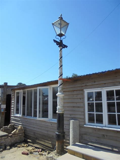 Iron Lamp Post from