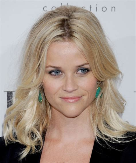 reese witherspoon formal long straight hairstyle light