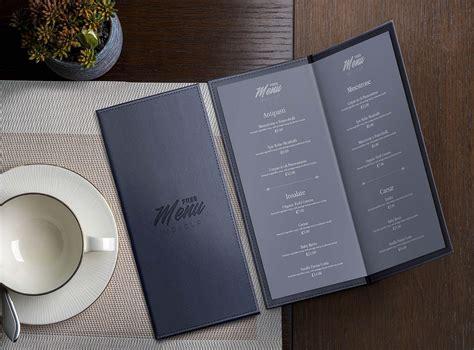 Often the designs have been. Free Leather Restaurant Menu Mockup (PSD) - MockupBase