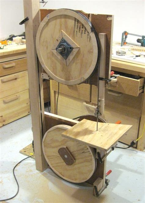 building  bandsaw making  frame  shop board