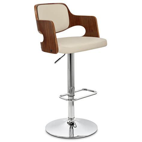 amazon chaise chaise de bar bois faux cuir amazon monde du tabouret