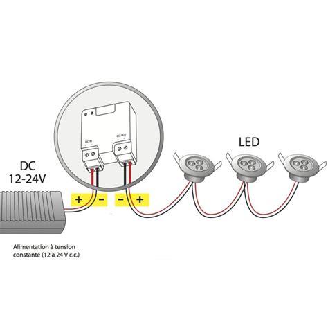 trust acm lv24 micro module variateur compatible dio pour spots led 12 224 24v www domotique