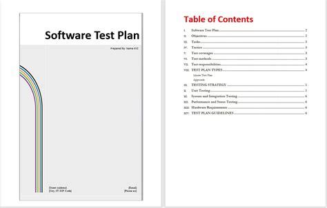software test plan template beautiful hardware test plan template embellishment documentation template exle ideas