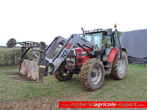 siege tracteur agricole occasion massey ferguson 6150 avec chargeur mx t10 tracteur