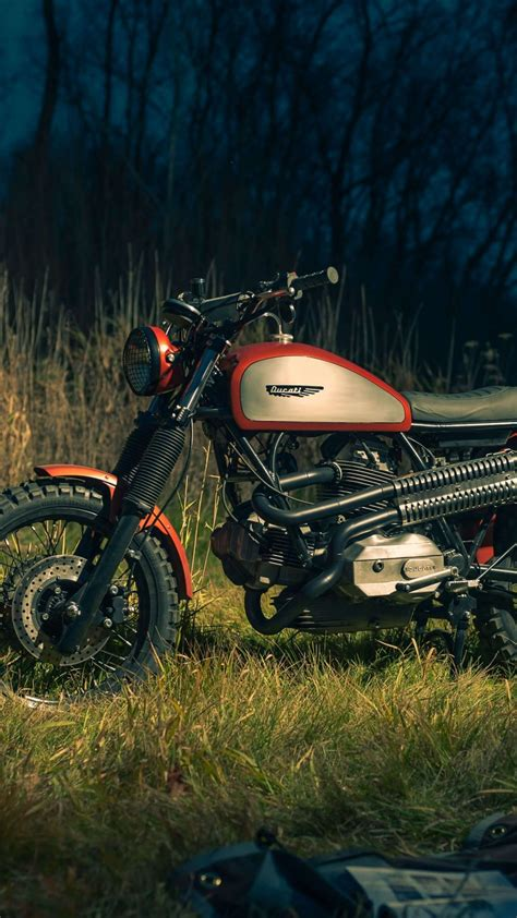 Ducati Scrambler Throttle 4k Wallpapers by Ducati Scrambler Cfire Motorcycle Outdoor 1080x1920