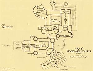 Map of Hogwarts - draft I by leethree9 on DeviantArt