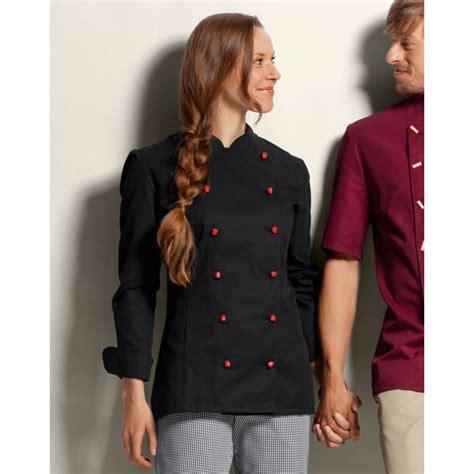 veste cuisine veste de cuisine femme manches longues peut bouillir